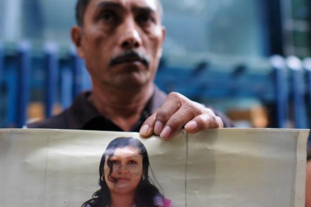 Familiares de migrantes centroamericanos claman por justicia. (Foto: Cuartoscuro)