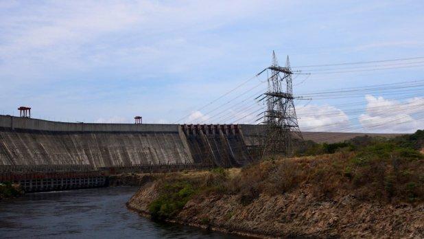 Hidroeléctrica de la represa Gurí