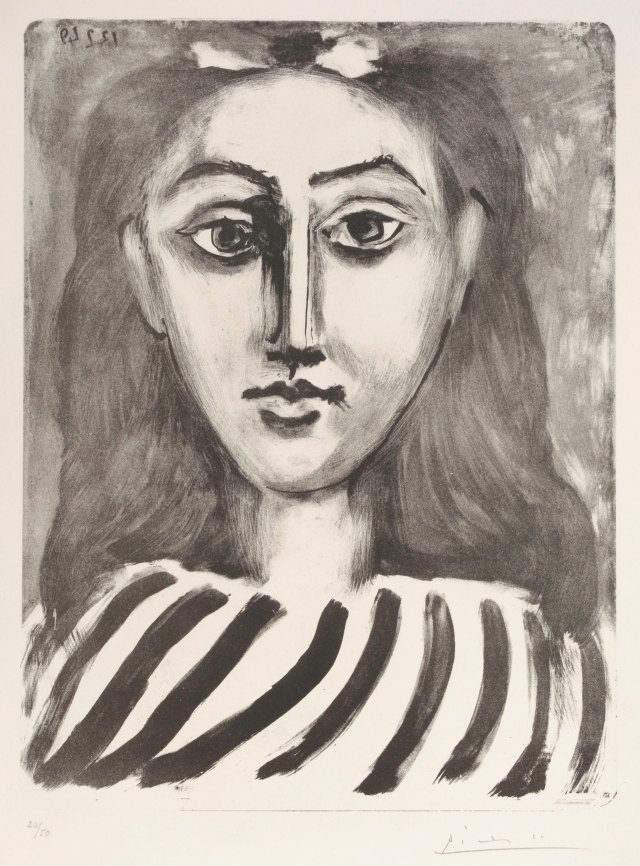 """Cabeza de joven"", de Picasso"