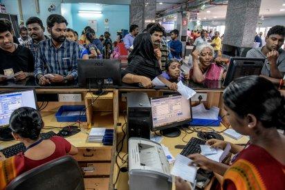 """Con el sistema de Google, podrán """"llegar a más personas"""", dijo el director médico de Aravind. """"Actualmente, hay un cuello de botella cuando se trata simplemente de evaluar a los pacientes"""". (Atul Loke para The New York Times)"""