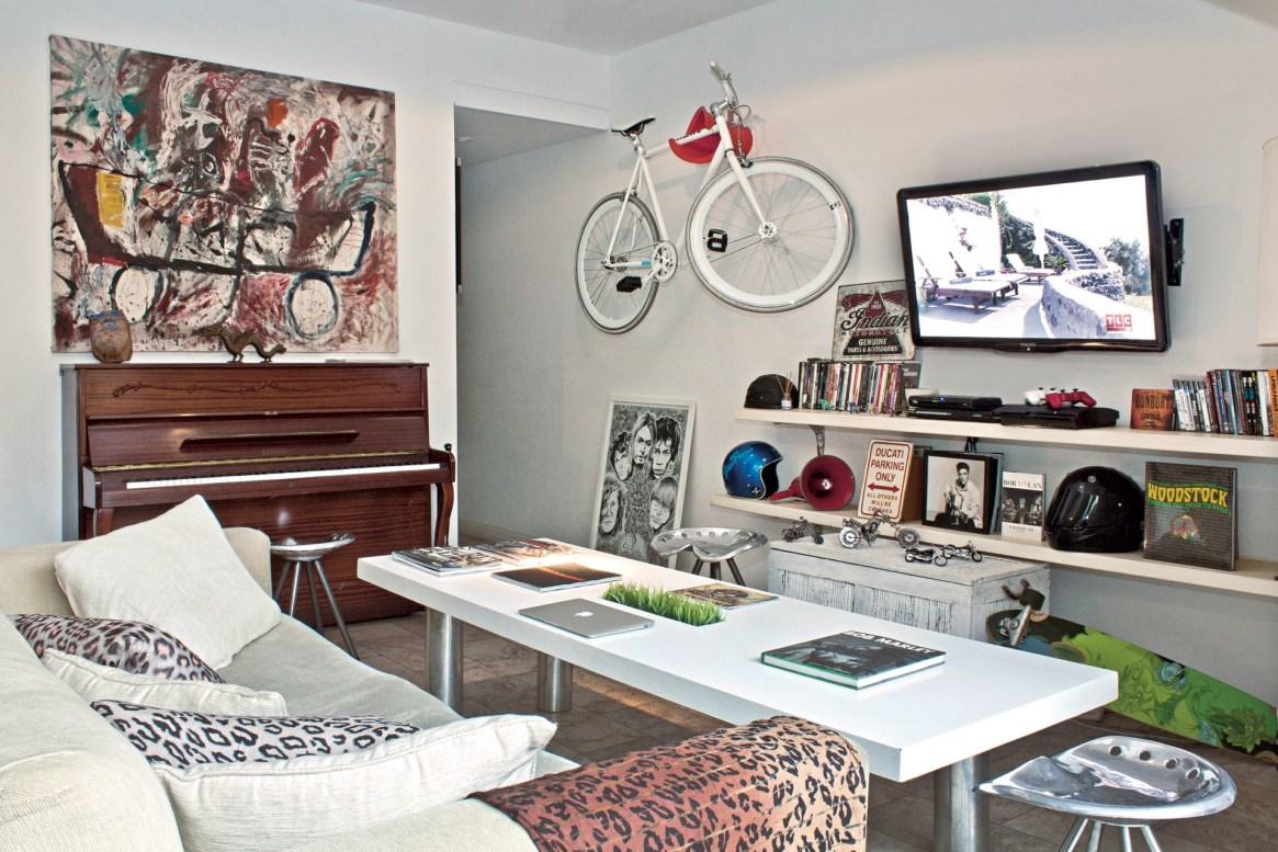 Este living cumple doble función de estar y comedor. Idea de la decoradora Mercedes Bernárdez.