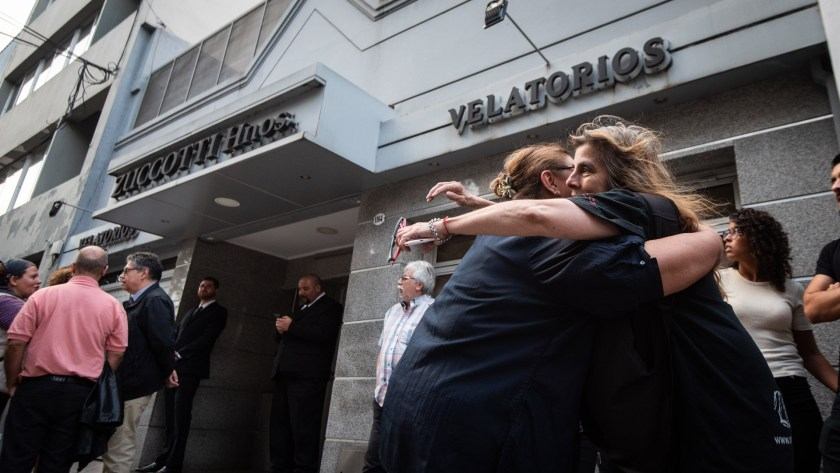 Se realizó el velatorio de Fabián Matus, el hijo de Mercedes Sosa (Fotos: Manuel Cortina / Teleshow)