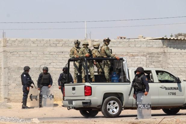 """Con el operativo """"Golpe de Timón"""", que se implementó en varios municipios de Guanajuato (FOTO: ALEJANDRO ROJAS /CUARTOCURO)"""