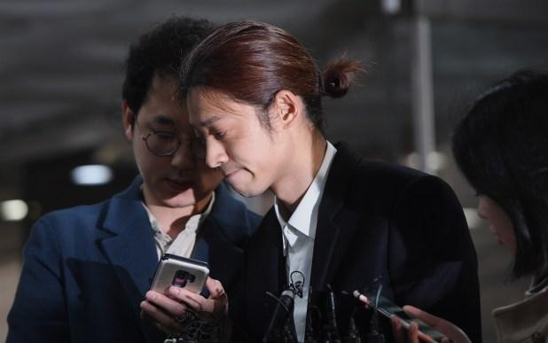 Jung Joon-young, estrella musical envuelta en el escándalo (AFP)