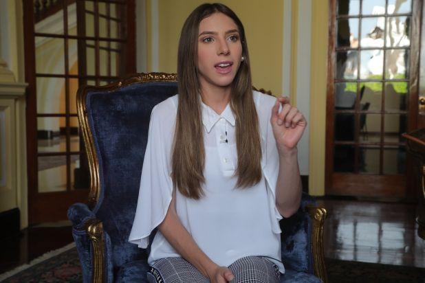 Fabiana Rosales, esposa de Juan Guaidó (EFE/ Ernesto Arias)