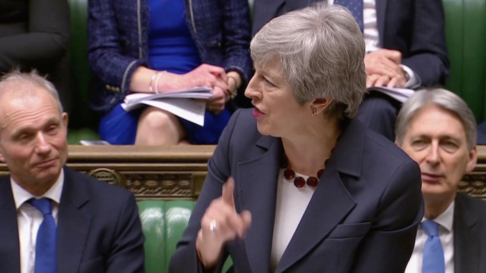Theresa May, ante su última oportunidad(REUTERS)