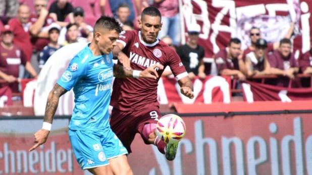 En su último partido, Belgrano cayó 3-1 frente a Lanús (Twitter: @clublanus)