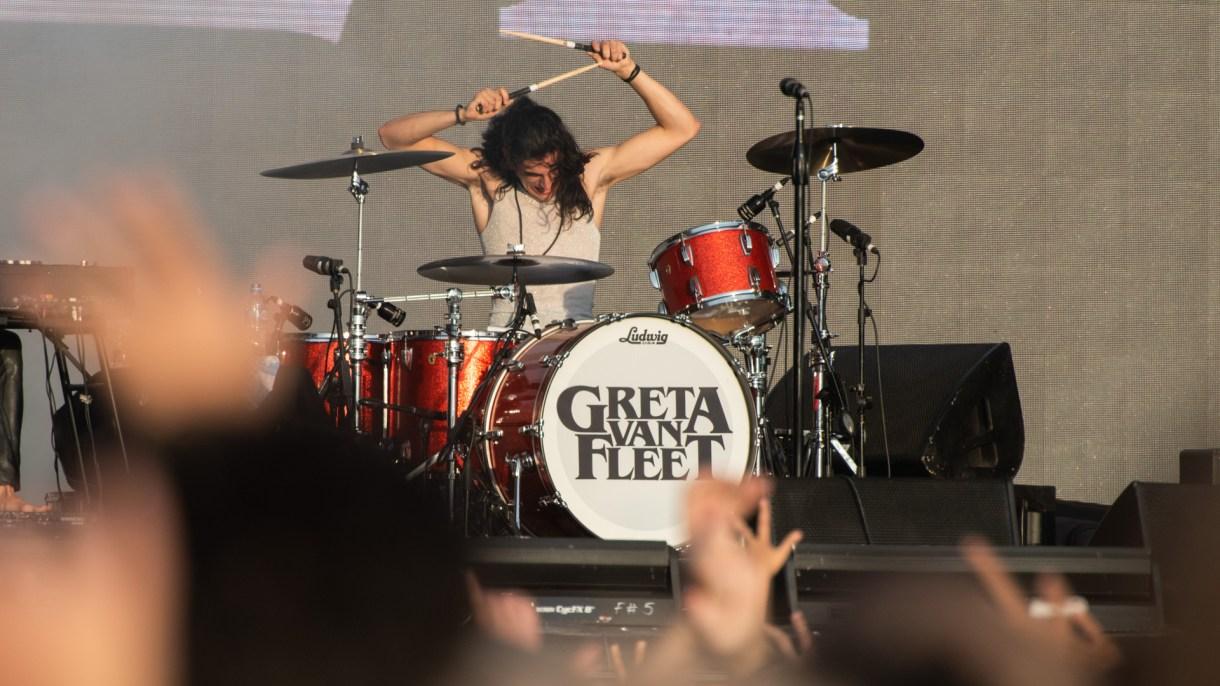 La banda fue aclamada por el público del Lollapalooza (Adrián Escandar)