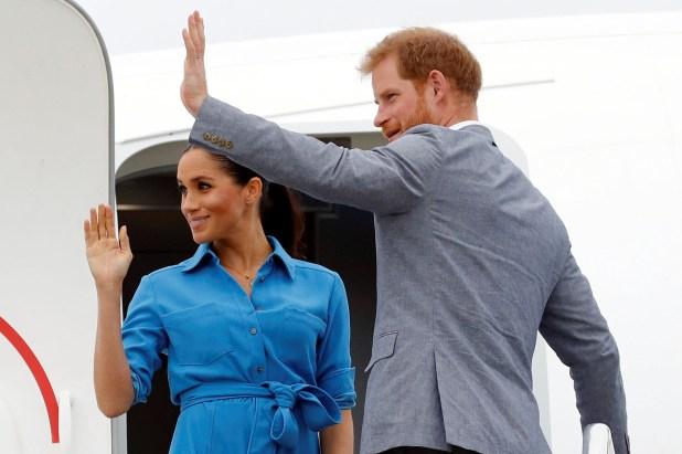 Los duques de Sussex quieren retener algo de privacidad (Reuters)