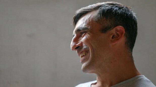 """Romero: """"mi sueño es trabajar en una organización de derecho humanos en barrios populares"""" (Fotos Nicolás Aboaf)"""