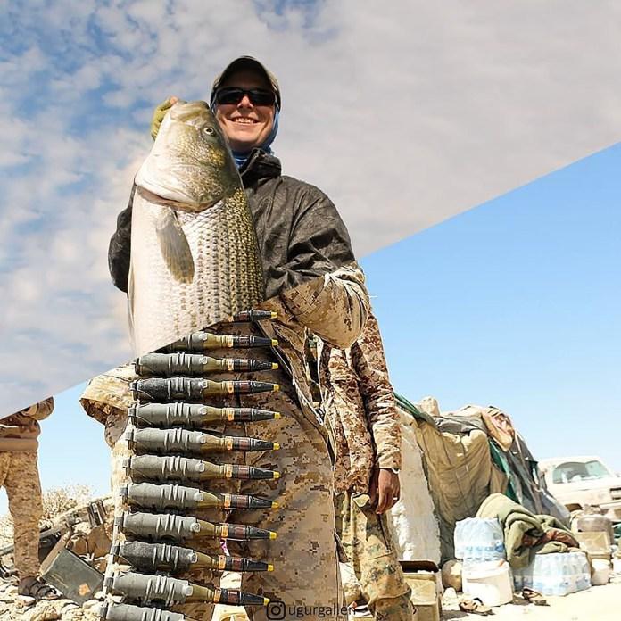 Un pescador y una imagen de Yemen