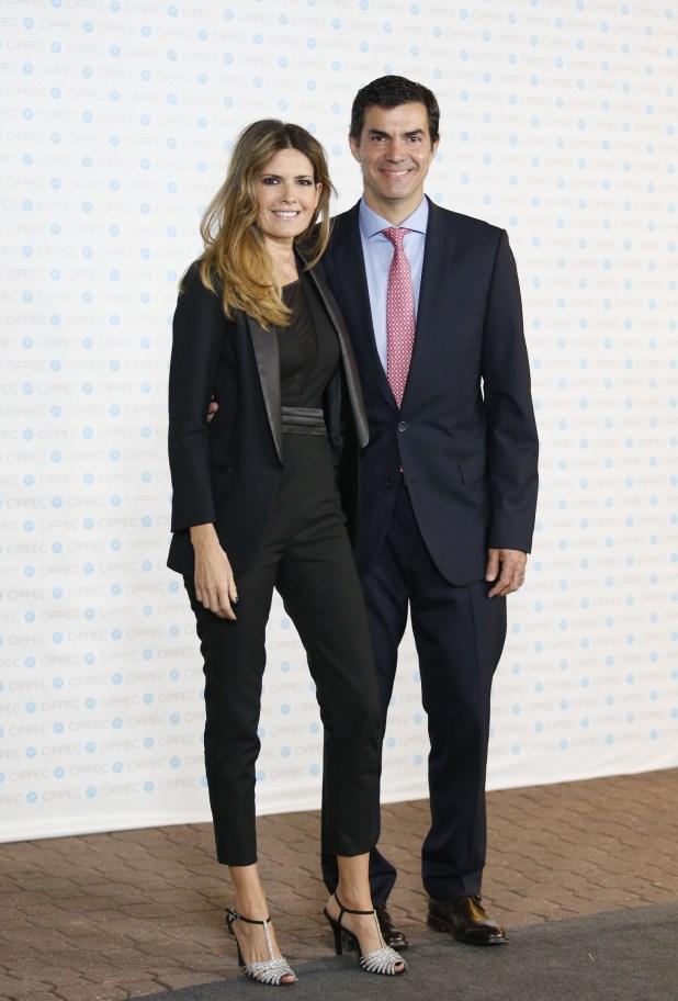 El gobernador de Salta, Juan Manuel Urtubey, y su mujer Isabel Macedo