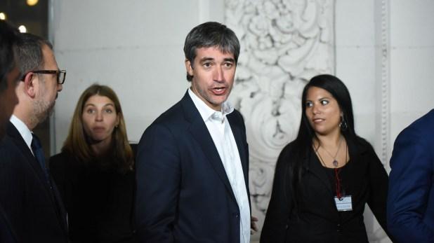 Adrián Pérez, secretario de Asuntos Políticos e Institucionales del ministerio del Interior, Obras Públicas y Vivienda