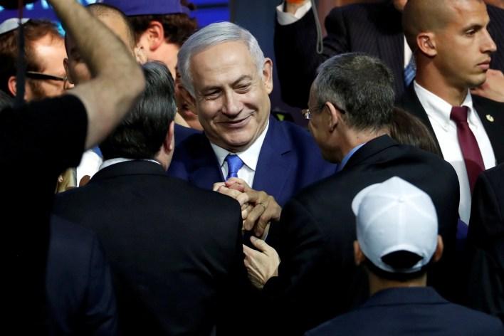 Benjamin Netanyahu aseguró que Israel volverá a intentar llegar a la Luna (REUTERS/Ronen Zvulun TPX IMAGES OF THE DAY)