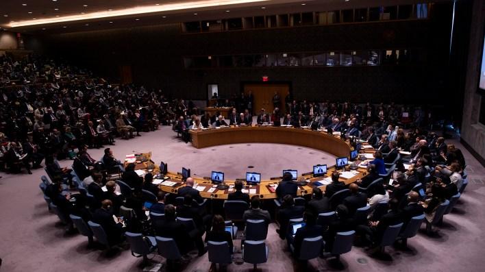 El Consejo de Seguridad de la ONU (Photo by Johannes EISELE / AFP)
