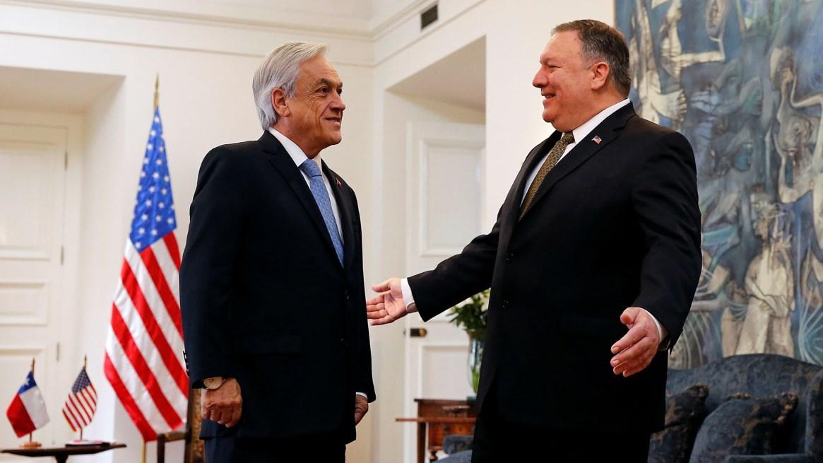 Tras su reunión con Piñera, Pompeo viajó a Paraguay (REUTERS/Rodrigo Garrido)