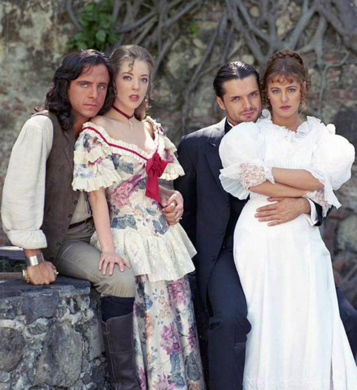 """Una de las versiones más famosas de """"Corazón Salvaje"""" fue la de 1993"""