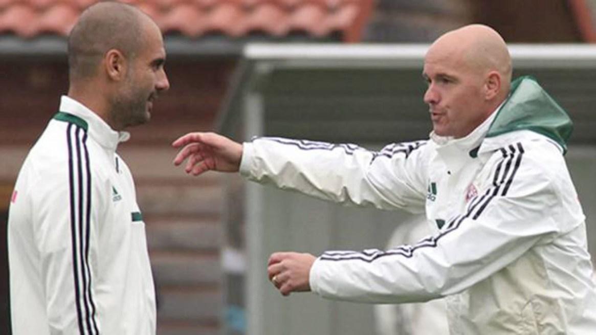 Erik Ten Hag trabajó con Pep Guardiola en el FC Bayern München (fcbayern.com)