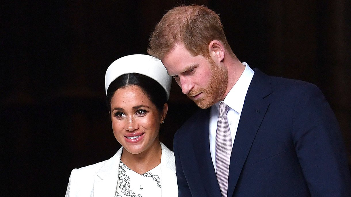 Los duques de Sussex se convertirán en padres las próximas horas (AP)