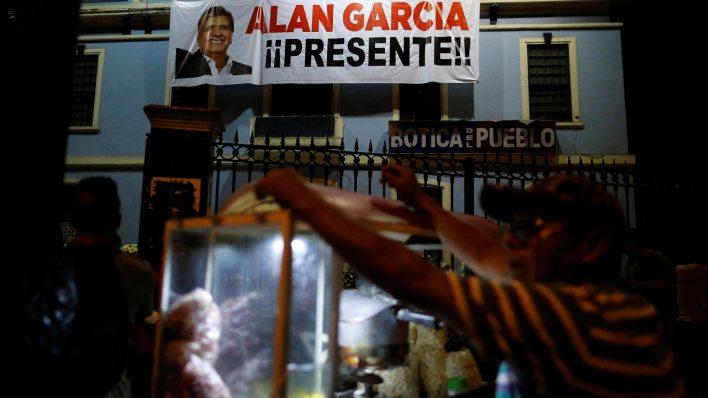 Alan García se suicidó el miércoles pasado (Reuters)