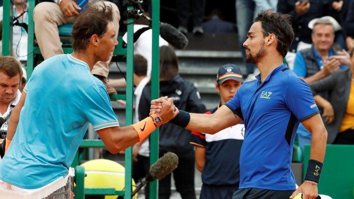 Fabio Fognini jugará la primera final del Masters 1000 de su carrera (Reuters)