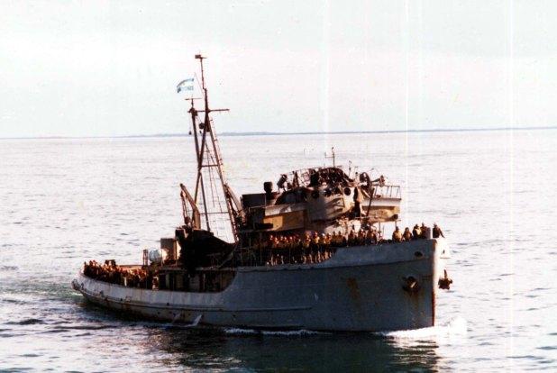 El día 5 de mayo de 1982, cuando se encontró el ARA Sobral