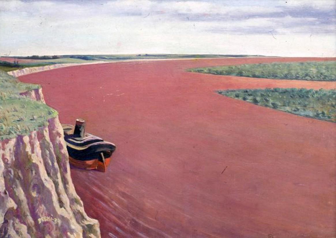 """""""Barrancas"""", Antonio Berni, 1934"""