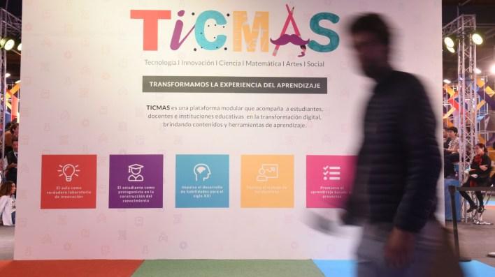 El espacio TICMAS en la Feria del Libro (Manuel Cortina)
