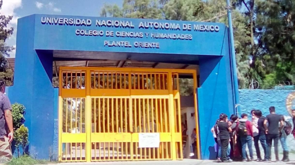 Una alumna del CCH oriente fue herida durante una de sus clases y posteriormente murió (Foto: Especial)