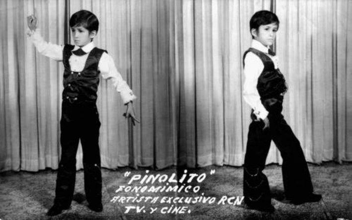 """Cuando era niño y se le conocía como """"Pinolillo"""""""