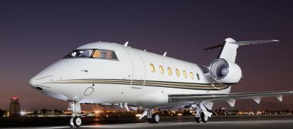 El avión Bombardier Challengese se reportó como desaparecido (Foto: Archivo)