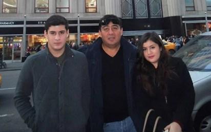 Integrantes de la familia Reyes Luna (Foto: redes sociales)