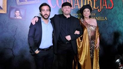 Nicolás Francella, Juan José Campanella y Graciela Borges
