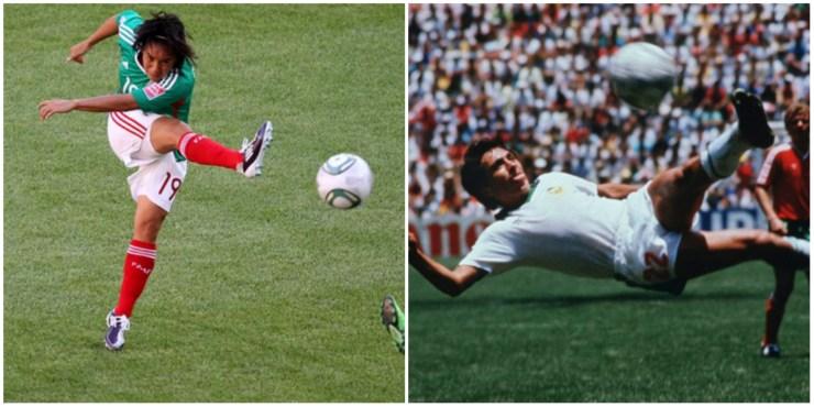 La FIFA eligió hoy el gol de Mónica Ocampo como el mejor de todos los tiempos en los torneos femeniles (Foto: Archivo)