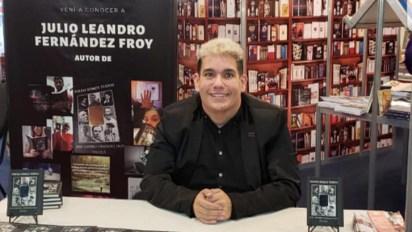 Julio Fernández Froy en la Feria del Libro
