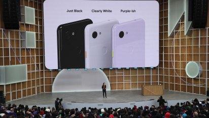 Google presentó los celulares Pixel 3a y 3a XL (AFP)