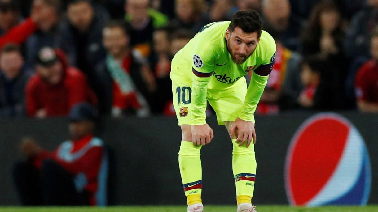 Informaron que Messi tuvo un cruce con hinchas que le recriminaron la derrota (Foto: Reuters)