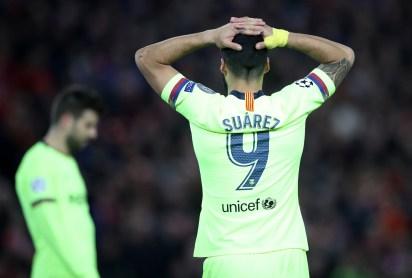 """La reacción de """"Lucho"""", cuando se consumó la dura derrota (Foto: Reuters/Carl Recine)"""