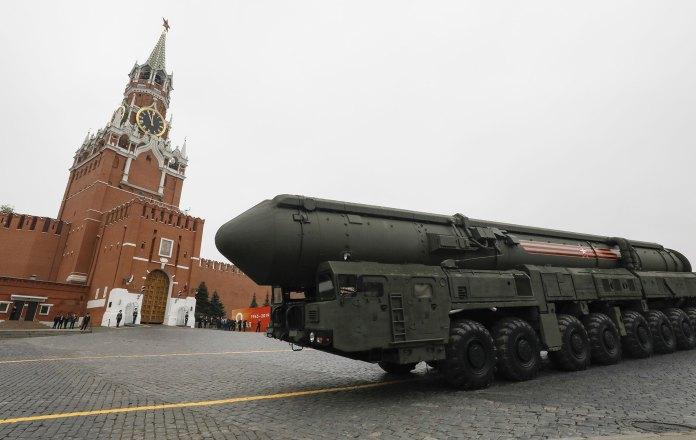 Un misil balístico intercontinental Yars RS-24 (Reuters)