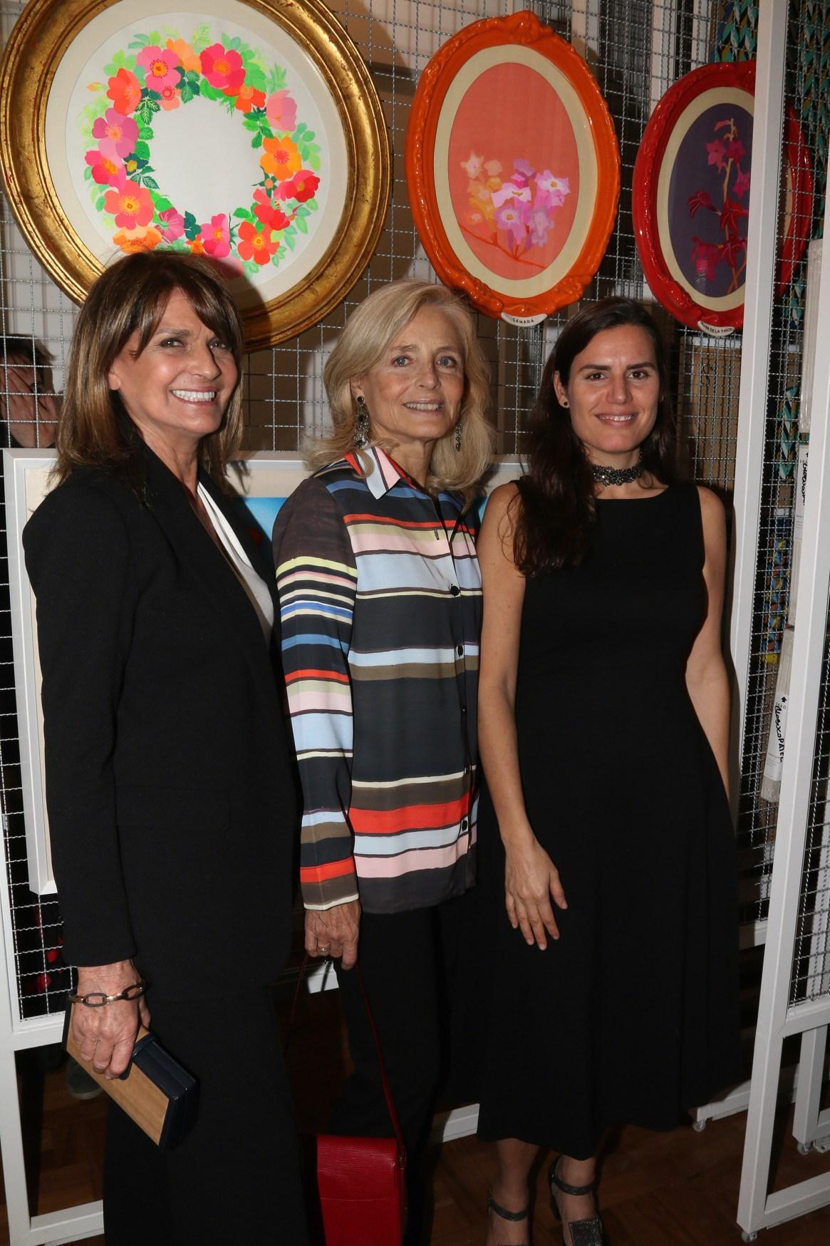 Teresa Calandra, Cecilia Zuberbuhler y Natalia Grobocopatel
