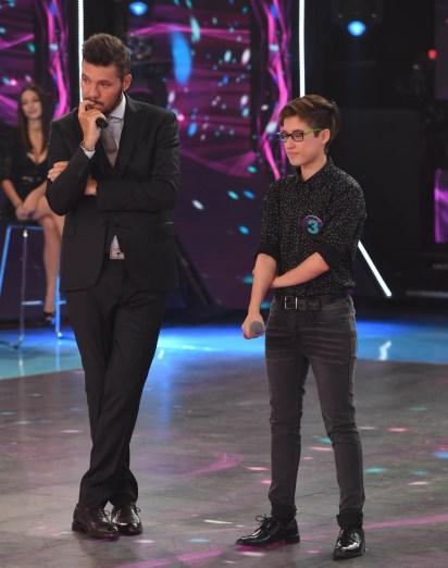 Marcelo Tinelli también se emocionó en el programa (LaFlia)