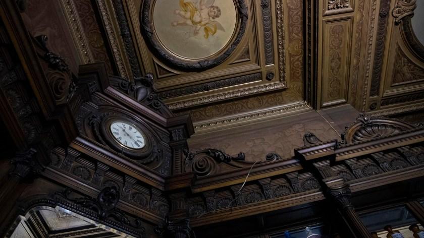 Los mostradores y parte del mobiliario fueron traídos desde Europa