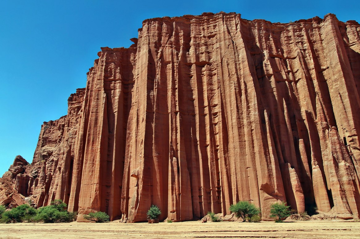 El parque nacional de Talampaya recibe más de 70 mil visitantes al año (Shutterstock)