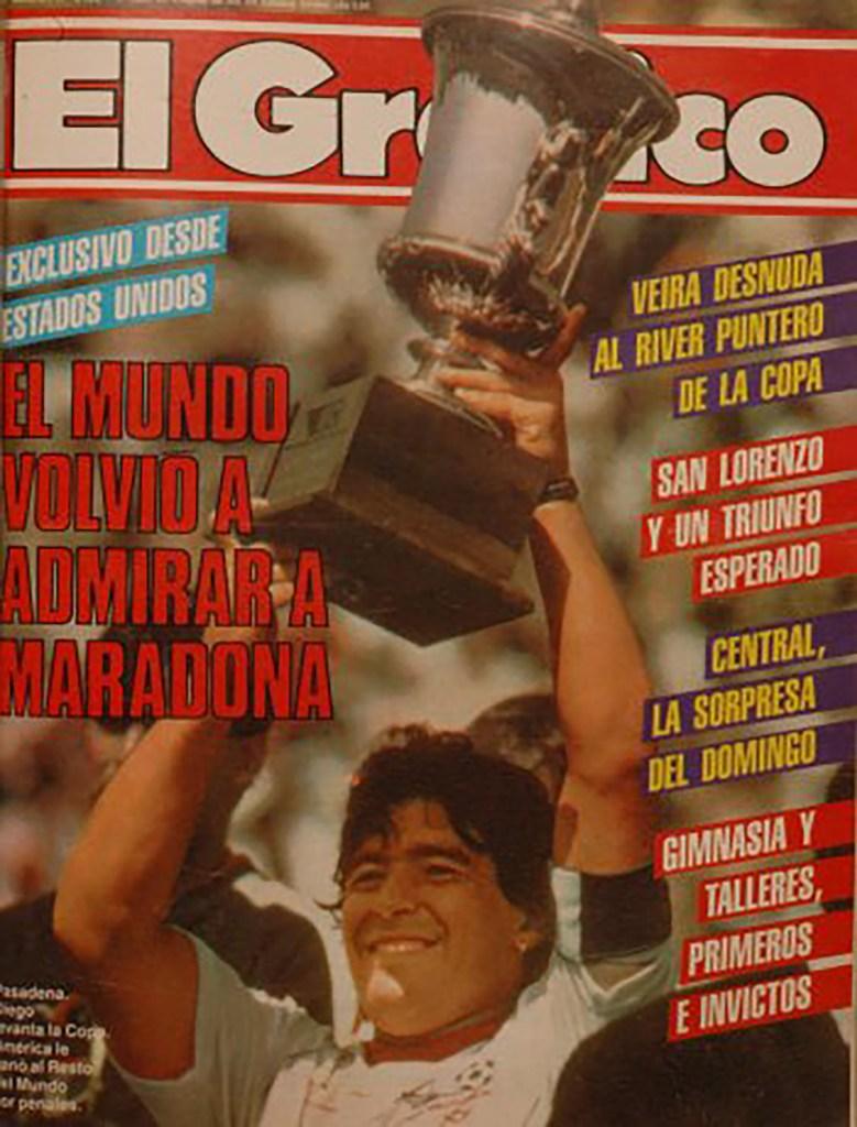 A lo largo de las décadas, la revista cubrió los eventos deportivos más importantes del país