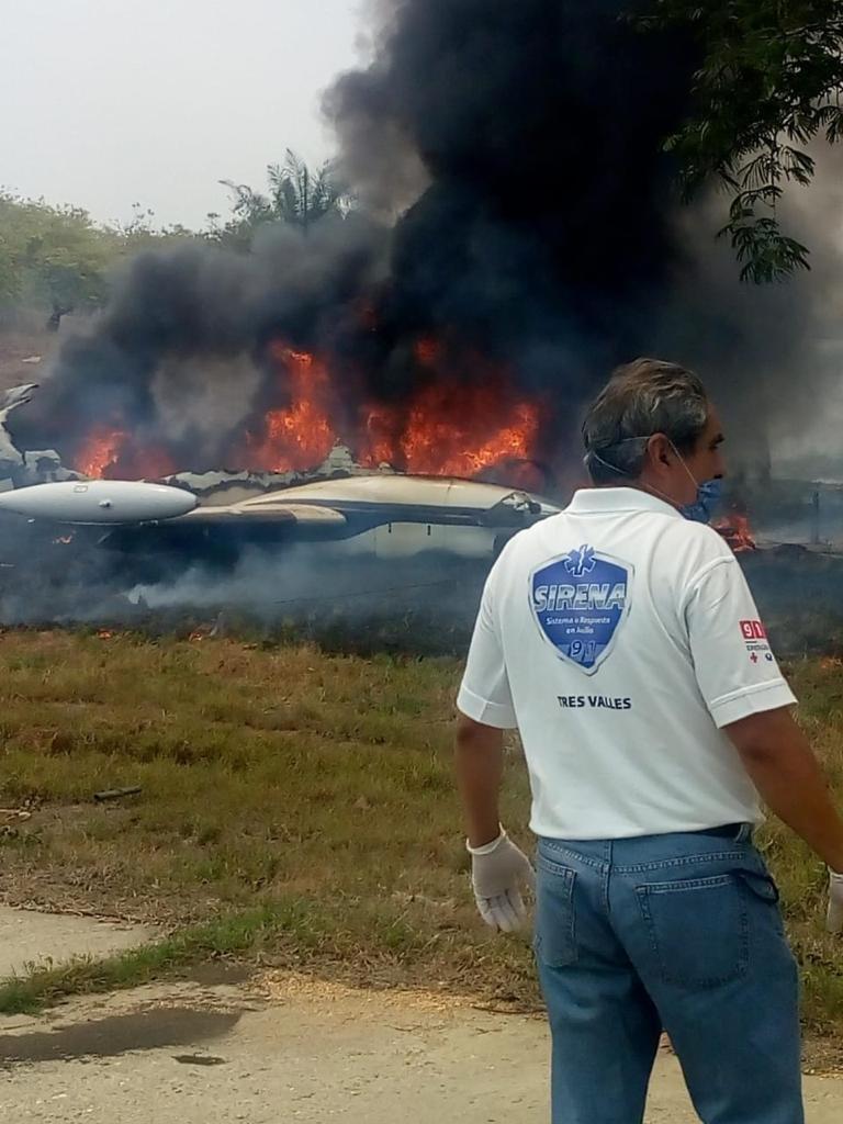 Las autoridades ya se encuentran trabajando en el lugar (Foto: Especial)