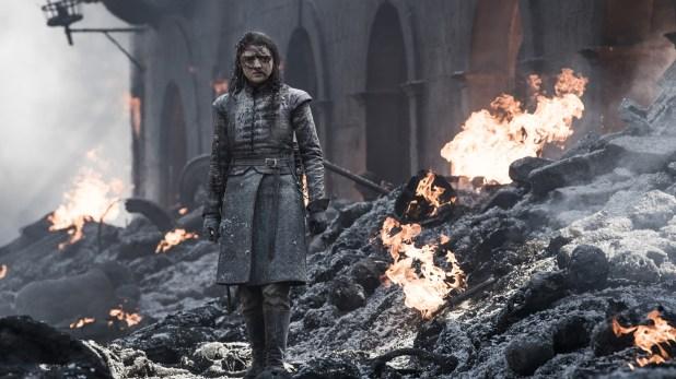 Arya Stark es interpretada por Maisie Willians