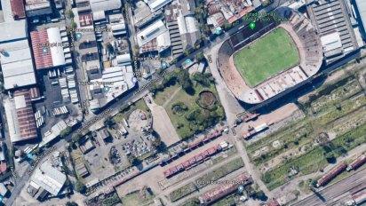 Los terrenos del Estado donde se construirán oficinas son vecinos al estadio de Huracán