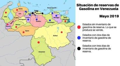La crisis del combustible en Venezuela es desesperante