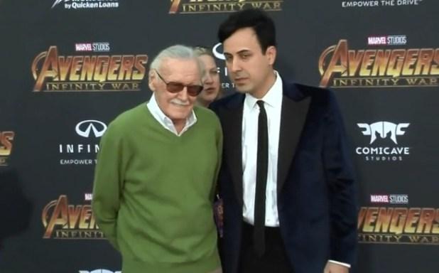 Stan Lee y Keya Morgan