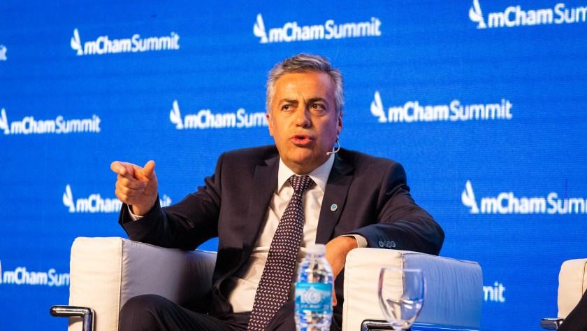 Cornejo realizó las declaraciones el jueves en un evento organizado por AmCham